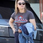 Hollywood Hot Spicy Actress CHLOE MORETZ Out for Lunch in Los Angeles Photo's