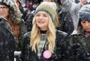 Chloe Moretz at Respect Rally while its Snowing in Park City (4)