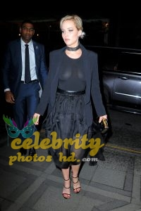 Jennifer Lawrence See-Through Candids in New York (5)