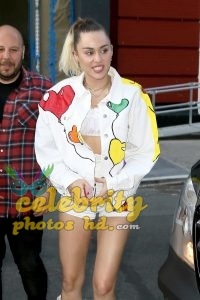 Miley Cyrus Leaving the Tonight Show with Jimmy Fallon in NYC (1)
