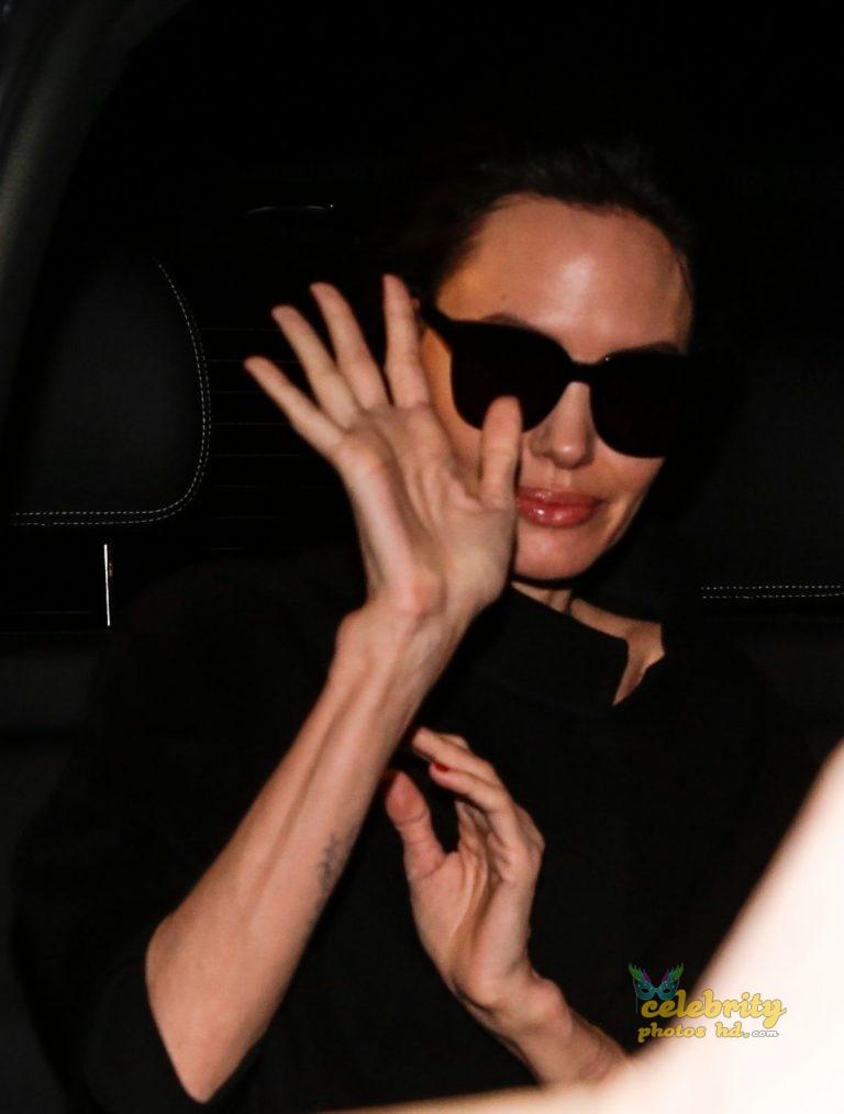 ANGELINA JOLIE Leaves Her Hotel in Paris (3)