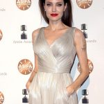 ANGELINA JOLIE at 45th Annual Annie Awards in Los Angeles Phpto's-02/03/2018