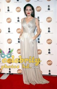 ANGELINA JOLIE at 45th Annual Annie Awards in Los Angeles (5)