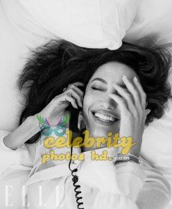 ANGELINA JOLIE in Elle Magazine Photo (4)