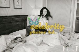 ANGELINA JOLIE in Elle Magazine Photo (5)