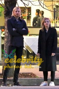 CHLOE MOETZ Out for Dinner with Her Brother in Studio City (2)