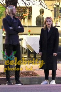 CHLOE MOETZ Out for Dinner with Her Brother in Studio City (3)