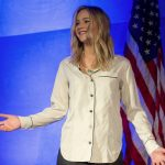 JENNIFER LAWRENCE at Unrig the System Summit in New Orleans 02/02/2018