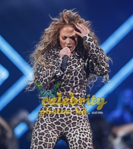 JENNIFER LOPEZ Performs at Direct TV Now Super Saturday Night in Minneapolis (1)