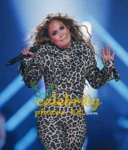 JENNIFER LOPEZ Performs at Direct TV Now Super Saturday Night in Minneapolis (3)