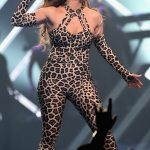 JENNIFER LOPEZ Performs Photo's at Direct TV Now Super Saturday Night in Minneapolis-02/03/2018