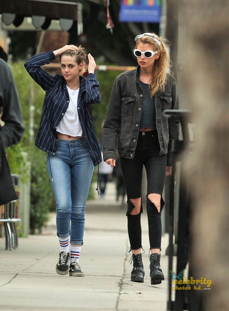 KRISTEN STEWART and STELLA MAXWELL Out and About in Los Angeles (3)