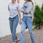 KRISTEN STEWART and STELLA MAXWELL Photo's at Shape House Sweat Lodge in Los Angeles-02/06/2018