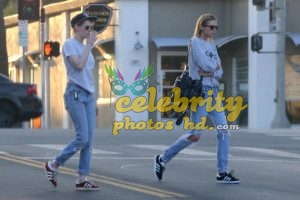 KRISTEN STEWART and STELLA MAXWELL at Shape House Sweat Lodge (3)