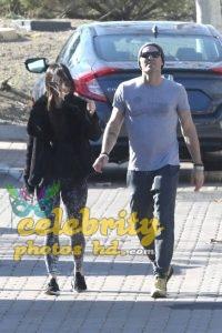 MEGAN FOX and Brian Austin Green Arrives at Malibu Country Mart (4)