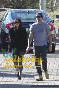 MEGAN FOX and Brian Austin Green Arrives at Malibu Country Mart (5)
