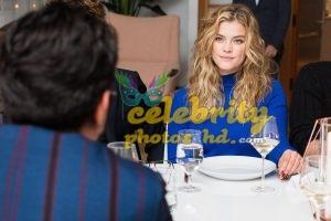 NINA AGDAL at Mr. Leight x BG Dinner in New York (2)