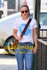 OLIVIA WILDE in Jeans Out in Los Angeles (1)