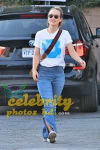 OLIVIA WILDE in Jeans Out in Los Angeles (2)