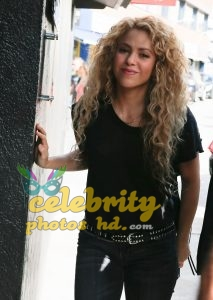SHAKIRA Out and About in Barcelon (2)