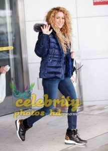 SHAKIRA at JFK Airport in New York (2)